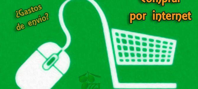 Comprar por internet aceite de oliva virgen extra de Andalucía
