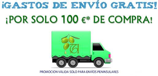 Camión con el logotipo de 'Típico de Andalucía'