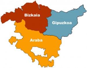 Mapa de Euskadi
