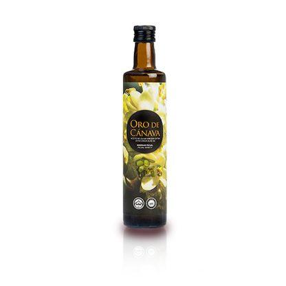 oro de cánava botella 500 ml