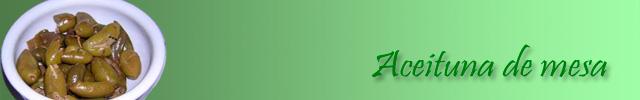 aceituna de mesa verde machacá la baezana