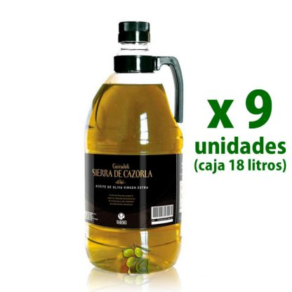 aceite sierra de cazorla 2l x 9 uds