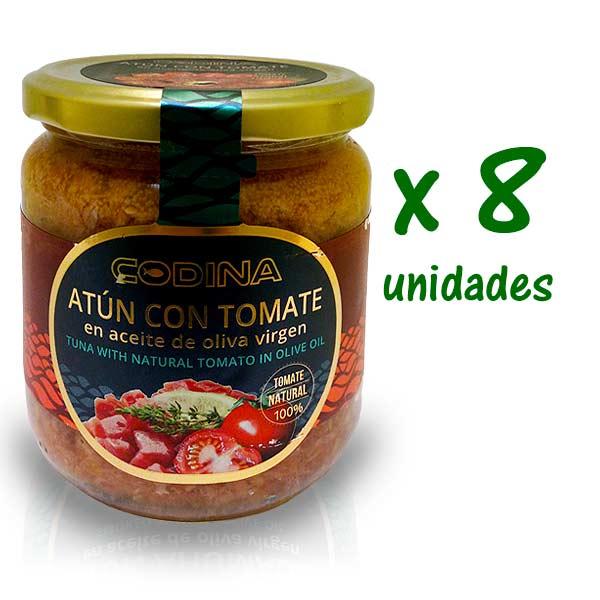 atún con tomate codina