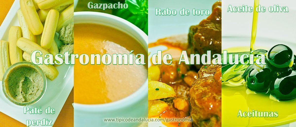 Gastronomía típica de Andalucía