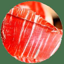 loncha de jamón ibérico