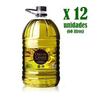 canpet5lx12 - aceite de oliva virgen extra oro de cánava