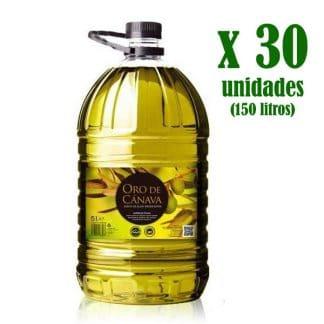 canpet5lx30 - aceite de oliva virgen extra oro de cánava
